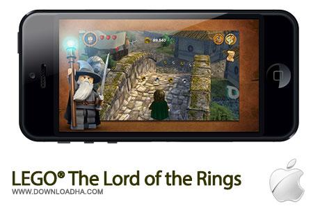 lego lotr بازی سرگرم کننده LEGO The Lord of the Rings 1.0   آیفون و آیپد