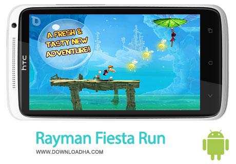 rayman fiesta run android بازی زیبا و معروف Rayman Fiesta Run 1.0   اندروید