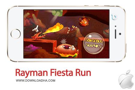 rayman fiesta run بازی زیبا و معروف Rayman Fiesta Run 1.0.1   آیفون و آیپد