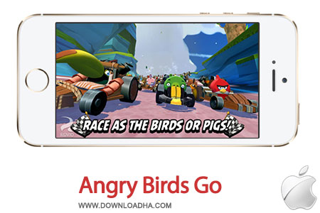 angry birds go بازی زیبای Angry Birds Go! 1.0.2   آیفون و آیپد