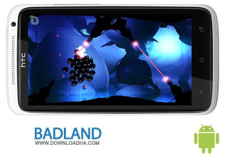 دانلود بازی محبوب و سرگرم کننده BADLAND 1.7 – اندروید