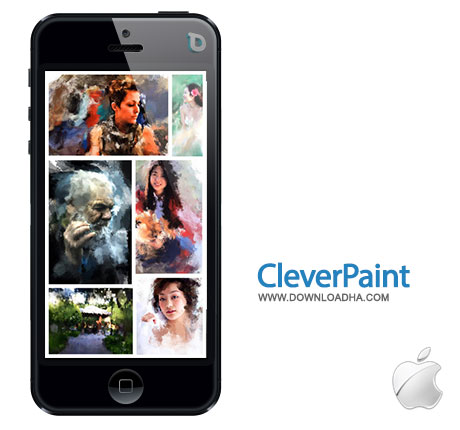 cleverpaint عکسهای خود را به نقاشی تبدیل کنید با CleverPaint 1.1   آیفون و آیپد