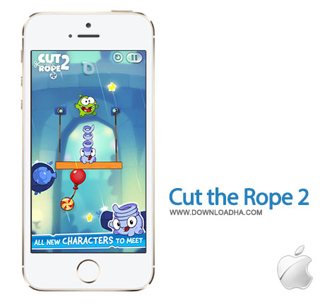 cut the rope 2 بازی زیبا و سرگرم کننده Cut the Rope 2   آیفون و آیپد