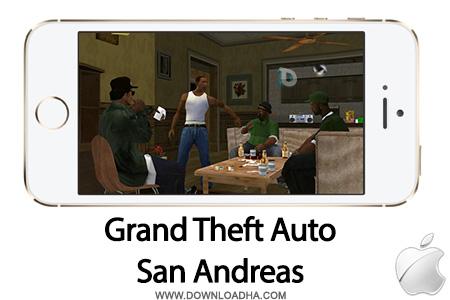 gta sa بازی زیبا و محبوب Grand Theft Auto: San Andreas   آیفون و آیپد
