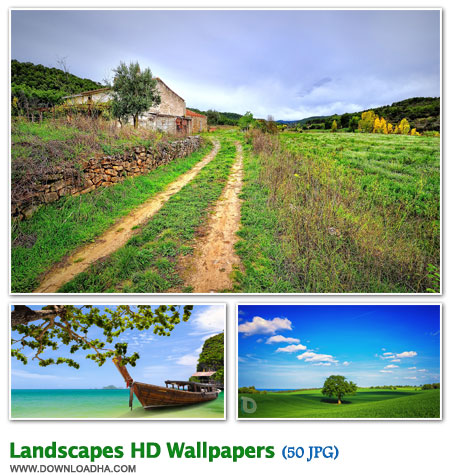 LHW مجموعه 50 والپیپر زیبا با موضوع طبیعت Landscapes HD Walpapers
