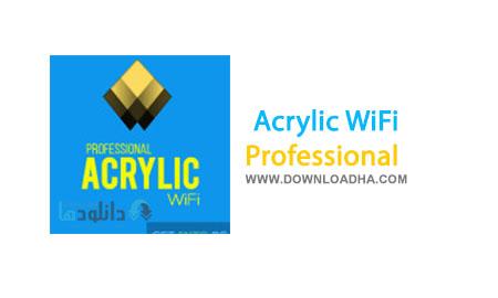 Acrylic WiFi دانلود نرم افزار مدیریت وای فای Acrylic WiFi Professional 3.0.5770
