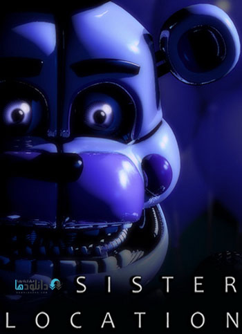 Five Nights at Freddys Sister Location pc cover دانلود بازی Five Nights at Freddys Sister Location برای PC