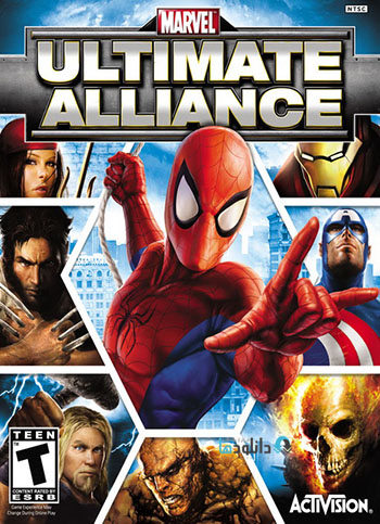 Marvel Ultimate Alliance pc cover دانلود بازی Marvel Ultimate Alliance برای PC