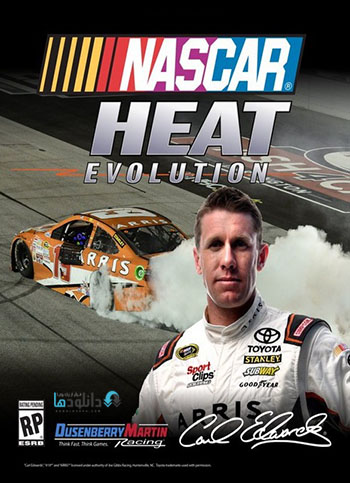 NASCAR Heat Evolution pc cover دانلود بازی NASCAR Heat Evolution برای PC