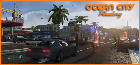 OCEAN CITY RACING Redux pc cover دانلود بازی OCEAN CITY RACING Redux برای PC