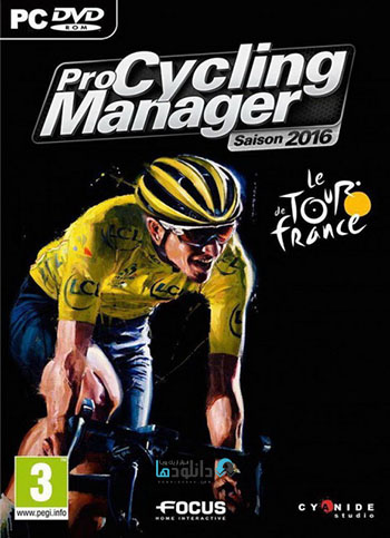 Pro Cycling Manager 2016 pc cover دانلود بازی Pro Cycling Manager 2016 برای PC