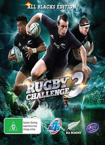 Rugby Challenge 3 pc cover دانلود بازی Rugby Challenge 3 برای PC