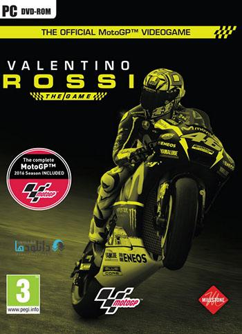 Valentino Rossi The Game pc cover دانلود بازی Valentino Rossi The Game برای PC