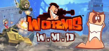 Worms W M D pc cover دانلود بازی Worms W.M.D برای PC