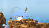 Worms W M D screenshots 04 small دانلود بازی Worms W.M.D برای PC