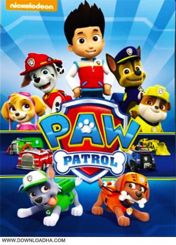 Paw Patrol cover دانلود فصل اول انیمیشن پاوپاترول   PAW Patrol Season 1 Complete 2013