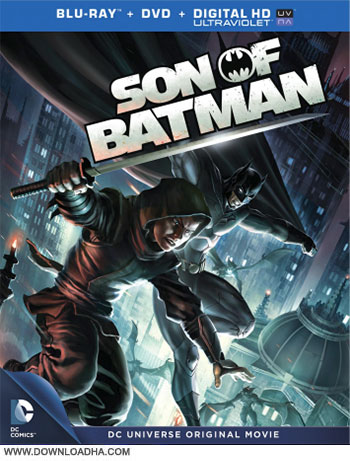 Son of Batman cover دانلود انیمیشن Son of Batman 2014
