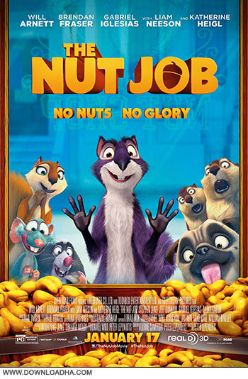 The Nut Job cover دانلود انیمیشن The Nut Job 2014