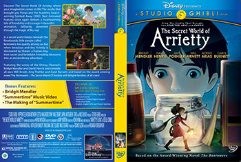The Secret World of Arrietty print small دانلود دوبله فارسی انیمیشن بند انگشتی   The Secret World of Arrietty 2011