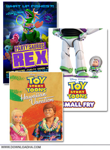 Toy Story Toons cover دانلود فصل اول انیمیشن ماجراهای داستان اسباب بازی   Toy Story Toons Season 01 2013