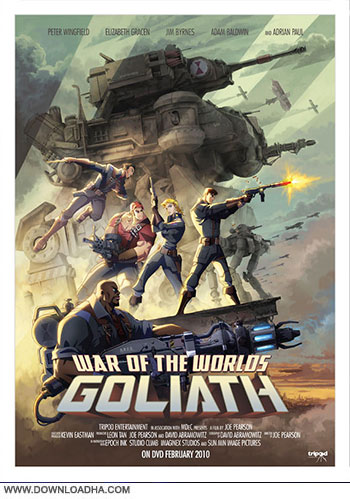 Waf ot The Worlds Goliath 2012 cover دانلود انیمیشن War of The Worlds Goliath 2012