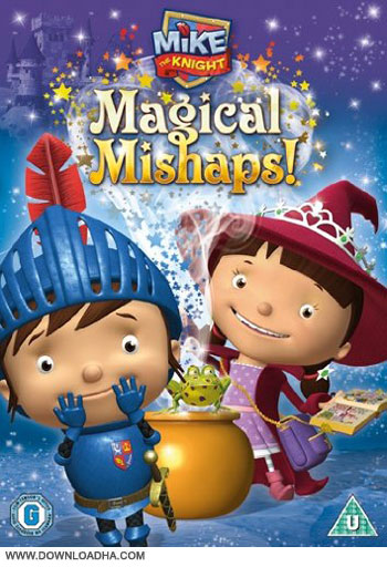 Mike the Knight Magical Mishaps dvd cover دانلود انیمیشن Mike The Knight Magical Mishaps 2013
