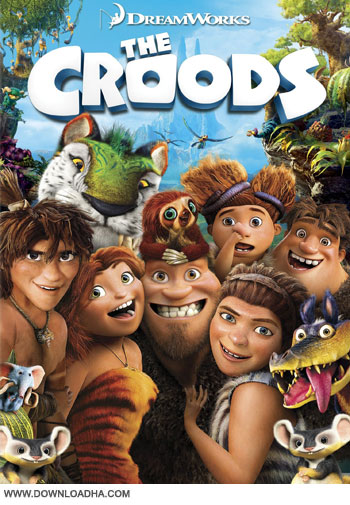 The Croods cover small دانلود دوبله فارسی انیمیشن غارنشینان – The Croods 2013