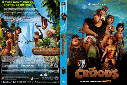 The Croods print small دانلود دوبله فارسی انیمیشن غارنشینان – The Croods 2013