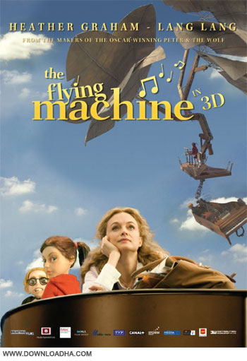 The Flying Machine 2011 cover دانلود دوبله فارسی انیمیشن پیانوی پرنده   The Flying Machine 2011