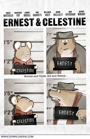 Ernest and Celestine 2012 cover small دانلود انیمیشن ارنست و سلستین   Ernest and Celestine 2012
