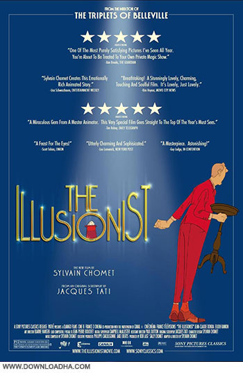The Illusionist 2010 cover small دانلود انیمیشن شعبده باز   The Illusionist 2010