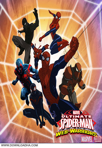 Ultimate spider man web warriors season 3 cover دانلود فصل سوم انیمیشن Ultimate Spider man Web Warriors Season 3 2014