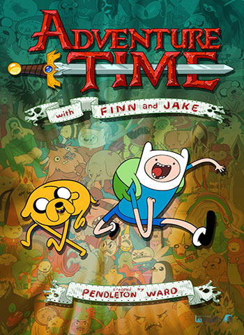 Adventure Time TV Series Animation cover small دانلود انیمیشن سریالی وقت ماجراجویی Adventure Time