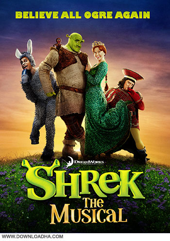 Shrek The Musical cover small دانلود نمایش موزیکال شرک   Shrek the Musical 2013