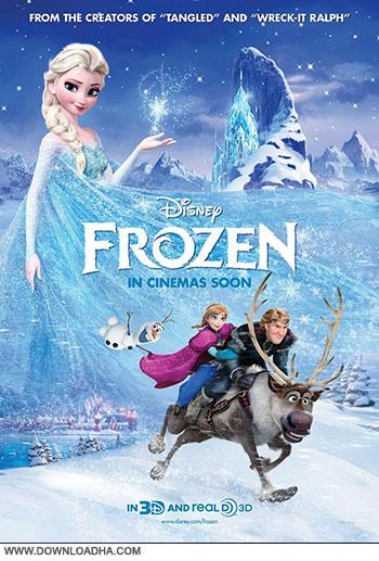 Frozen 2013 cover small دانلود انیمیشن یخ زده   Frozen 2013
