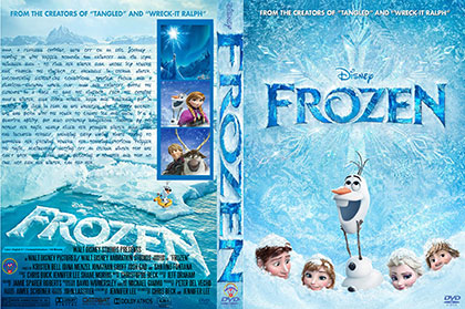 Frozen 2013 print small دانلود انیمیشن یخ زده   Frozen 2013