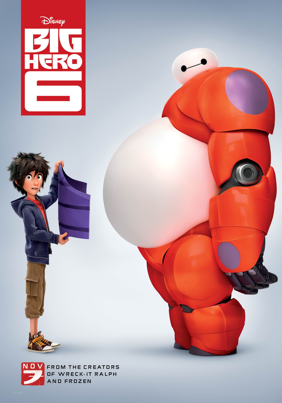 Big Hero 6 cover small دانلود انیمیشن Big Hero 6 2014