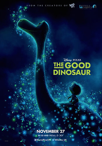 The Good Dinosaur 2015 cover small دانلود انیمیشن The Good Dinosaur 2015