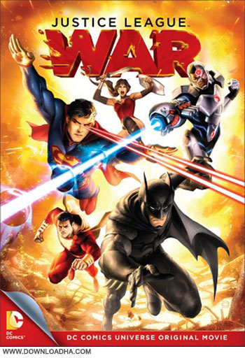 Justice League War cover دانلود انیمیشن Justice League War 2014