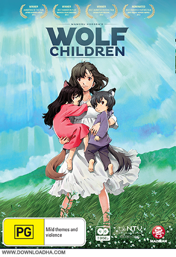 دانلود انیمیشن Wolf Children 2012