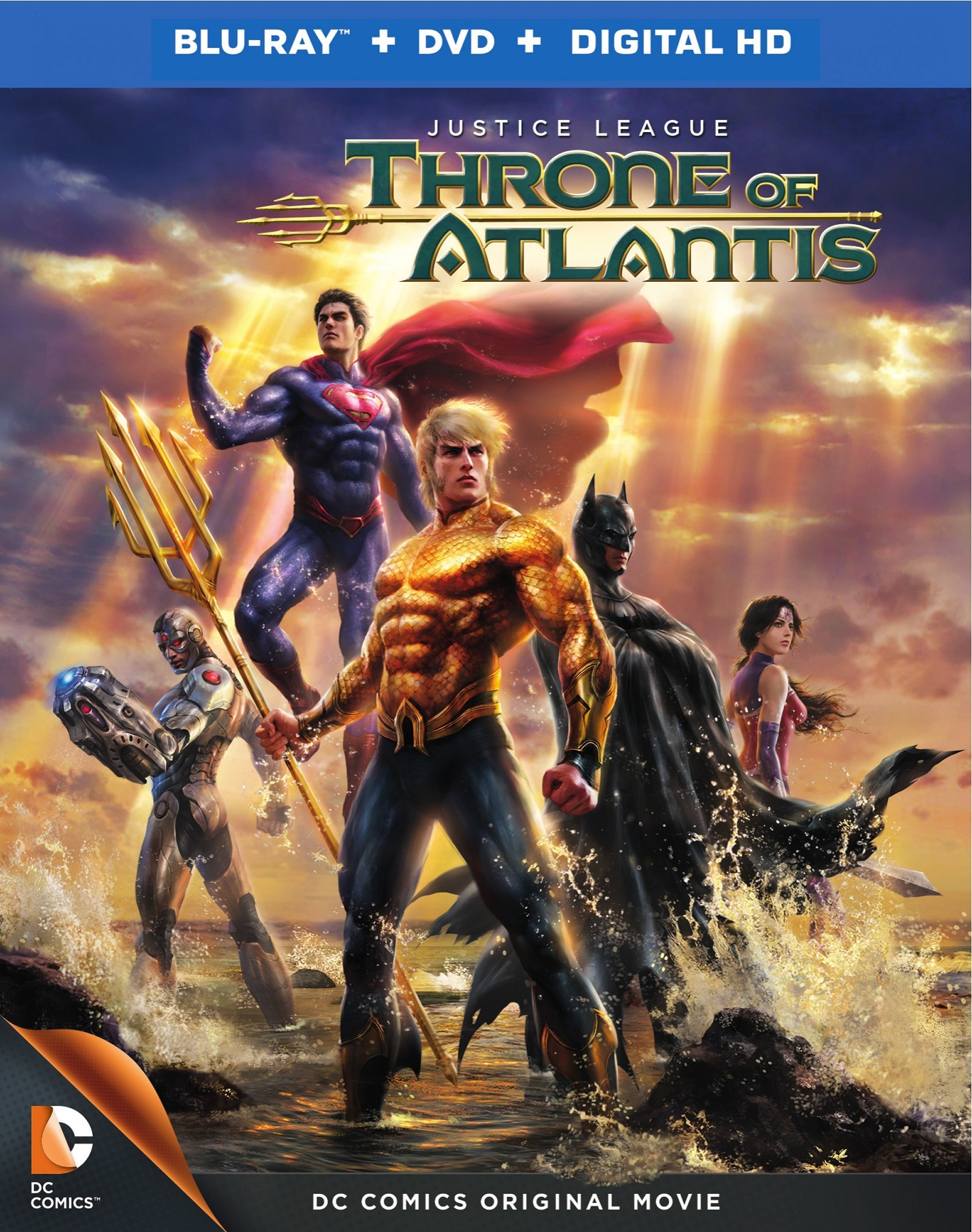 Justice League Throne of Atlantis 2015 cover small دانلود انیمیشن Justice League Throne of Atlantis 2015