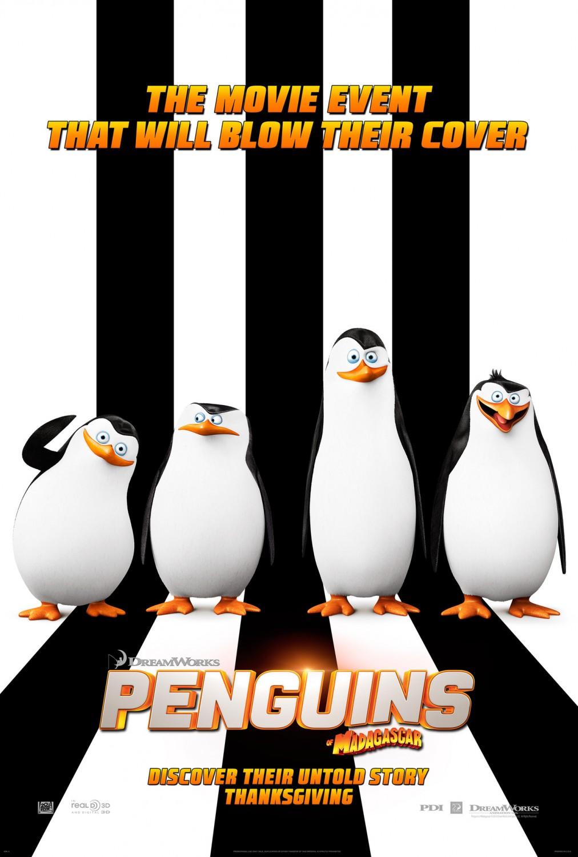 دانلود انیمیشن پنگوئن های ماداگاسکار – Penguins of Madagascar 2014