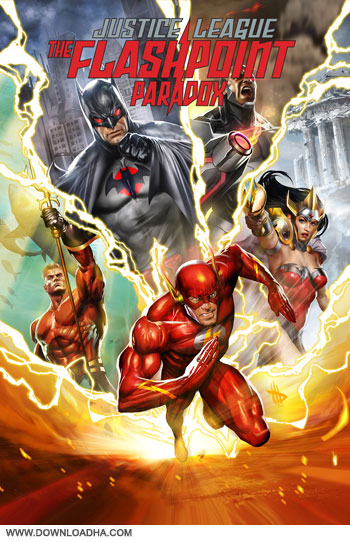 Justice League flashpoint paradox cover small دانلود انیمیشن Justice League: The Flashpoint Paradox 2013