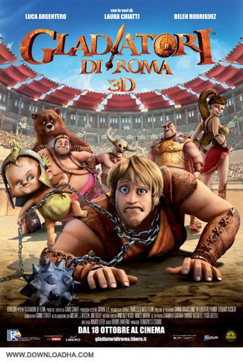 gladiators of rome cover دانلود دوبله فارسی انیمیشن گلادیاتورهای دست و پا چلفتی – Gladiators of Rome 2012