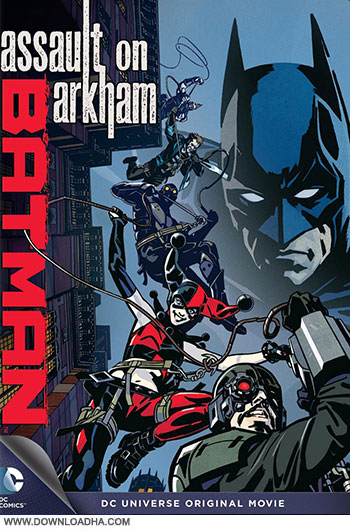 Batman Assault on Arkham City 2014 cover small دانلود انیمیشن Batman Assault on Arkham 2014