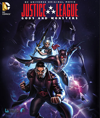 justice league gods and monsters 2015 cover small دانلود انیمیشن Justice League Gods and Monsters 2015