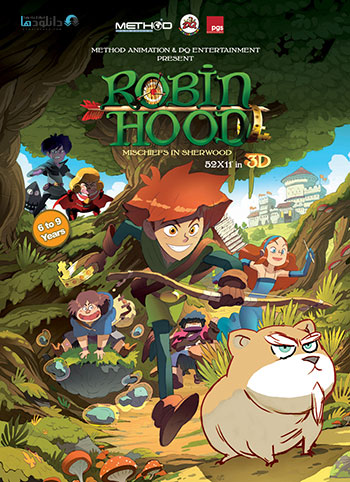 Robin Hood Mischief in Sherwood 2016 cover small دانلود فصل اول انیمیشن Robin Hood Mischief in Sherwood 2016