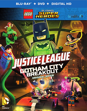 Justice League Gotham City Breakout 2016 cover small دانلود انیمیشن LEGO Justice League Gotham City Breakout 2016