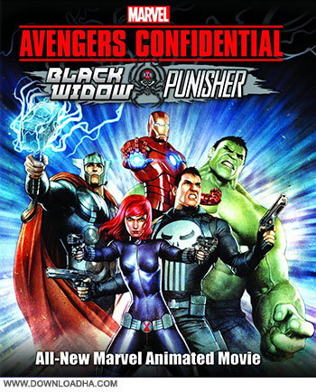 Avengers Confidential 2014 cover small دانلود انیمیشن Avengers Confidential: Black Widow & Punisher 2014