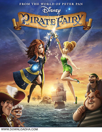 The Pirate Fairy 2014 cover small دانلود انیمیشن The Pirate Fairy 2014